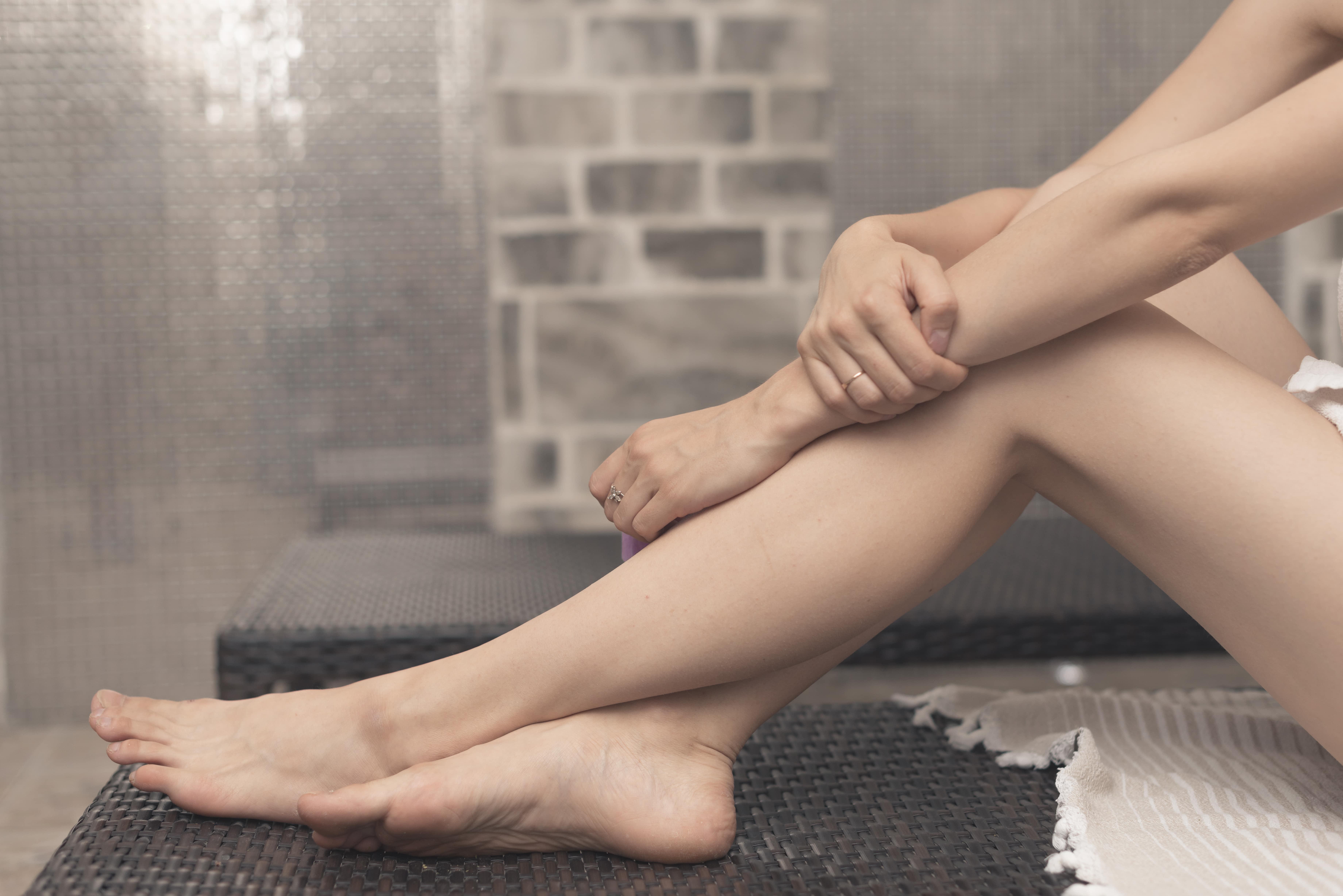 sin flacidez en las piernas